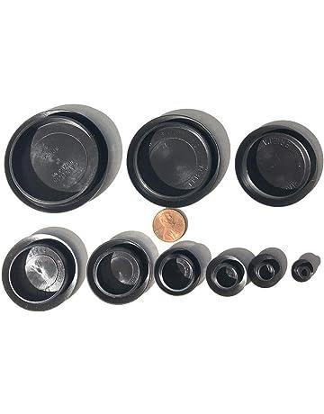 100 x 6mm Black Hole Decorative Finishing Plug *Value Pack*