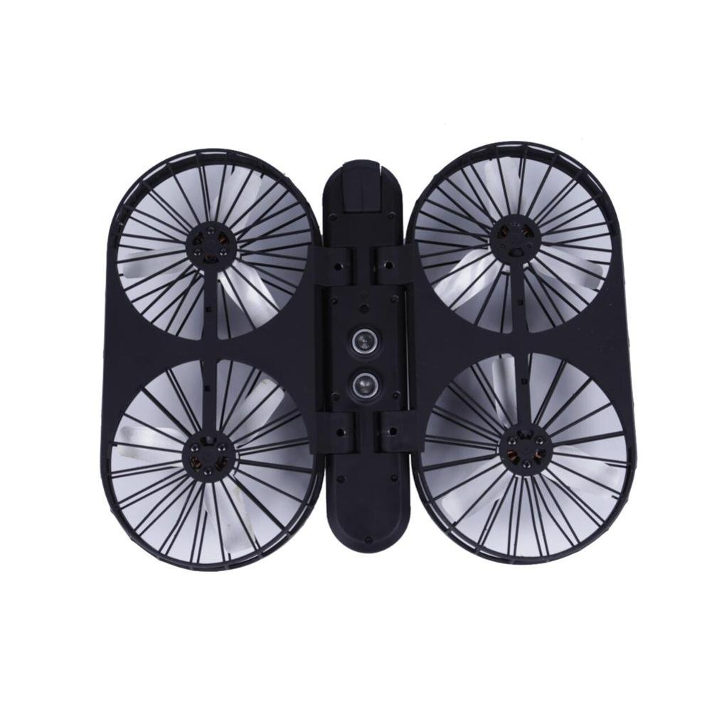 Dreamyth Super Awesome HOSHI007 Pro Selfie Quadcopter GPS Wifi FPV 1080P 4K Camera Brushles Helicopter (Black)
