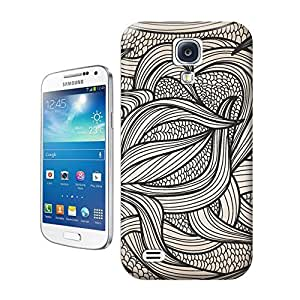 LarryToliver You deserve to have Black and white leaves For samsung galaxy s4 Cases