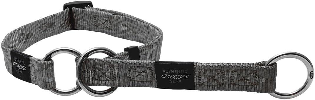 34-54 cm x 2,0 cm Rogz Alpinist K2 Black Schlupfhalsband