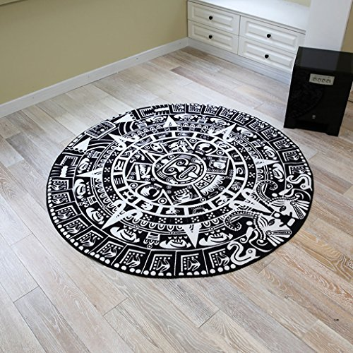 Amazon De Teppiche Maya Totem Matte Boden Wohnzimmer Schlafzimmer