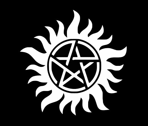 Supernatural Symbol Series Lover Removable Vinyl Wall Decal Protect Your Room