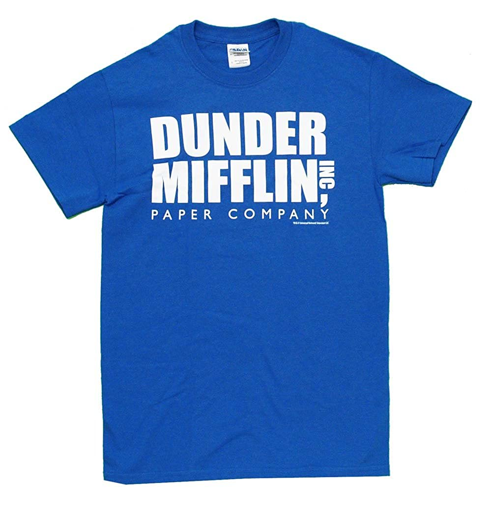 T shirt design quad cities - Amazon Com The Office Dunder Mifflin Inc Paper Company Logo T Shirt Tee Movie And Tv Fan T Shirts Clothing