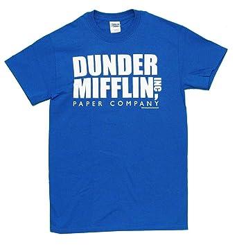 Amazon.com: The Office Dunder Mifflin INC Paper Company Logo T ...