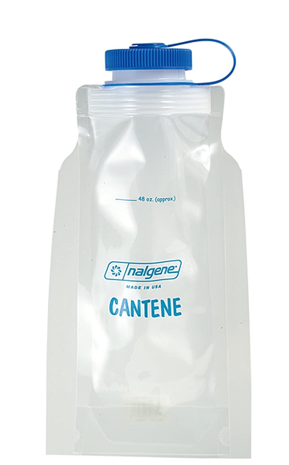 Nalgene PE Drinking Bottle, Folding Bottle, 1.5l, Transparent, 1412650 RELGV|#Relags 340710