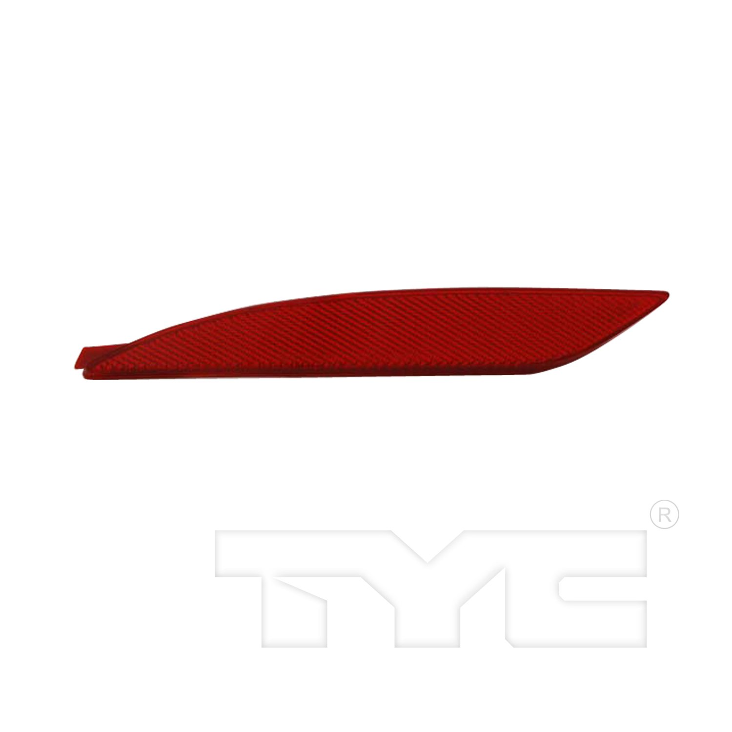Partslink TO1184105 Multiple Manufacturers OE Replacement Bumper Cover Reflector Toyota FJ Cruiser 2007-2013 TO1184105N