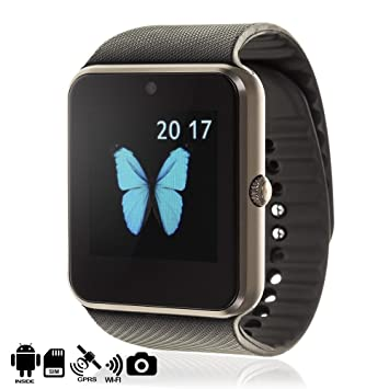 DAM TEKKIWEAR. Smartwatch Phone QW08 con Sistema operativo Android ...