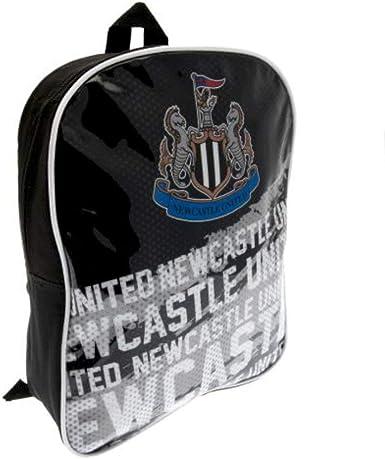 Black Newcastle United Backpack Rucksack School Gym Bag