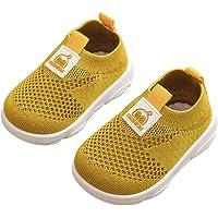 DEBAIJIA Zapatos para Niños 3-18M Bebé Caminan Zapatillas Deporte sin Cordones Transpirables Malla Ligera Antideslizante…