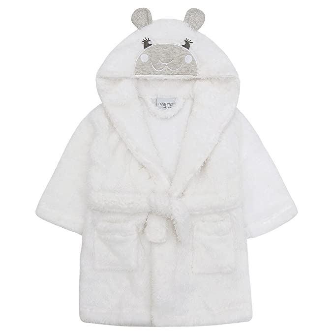 Babytown Baby Snuggle Plush Hooded Coat