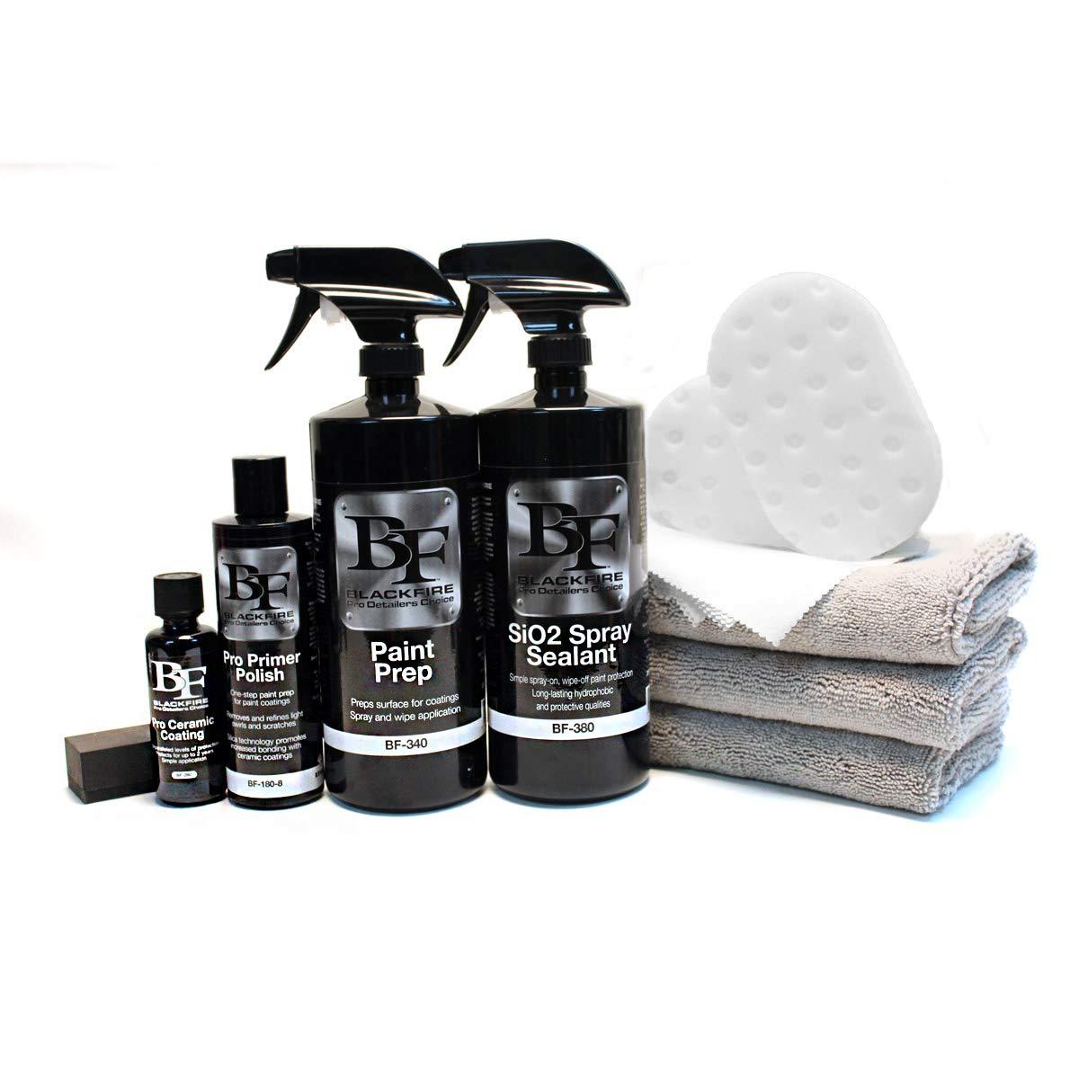 BLACKFIRE Pro Ceramic Coating Complete Kit