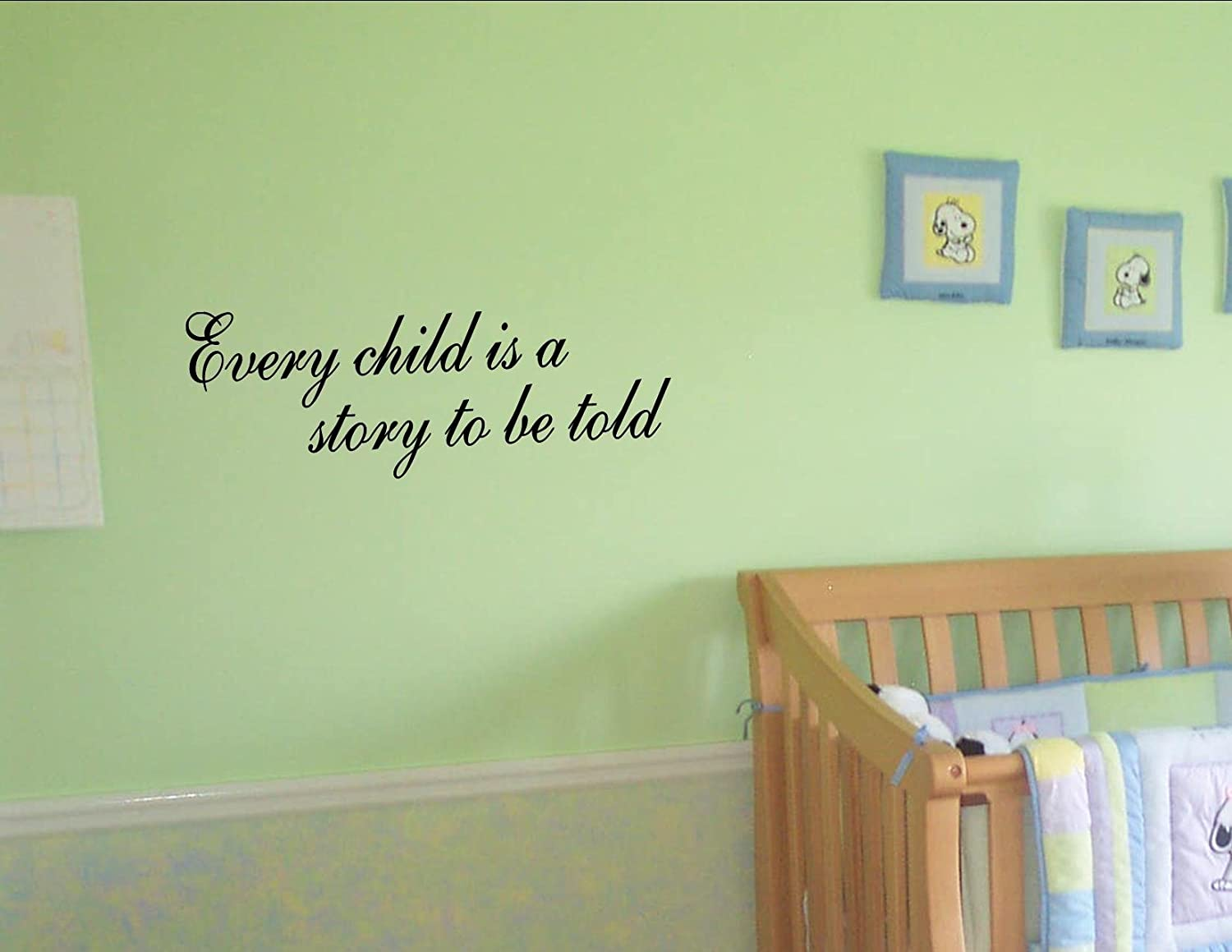 every child is a story to be told vinyl wall quotes children sayings
