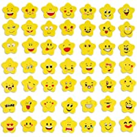 100 Piezas Emoji Borrador, Gomas de Borrar Emoji, para Útiles Escolares, Regalo de Fiesta para Niños, Relleno de Bolsa…