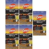 S C JOHNSON WAX 76086 Off Mosquito Lamp Refill, 2-Pack (5 Box)