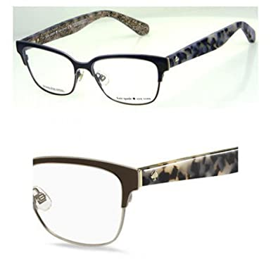 ae521bd4b04e Image Unavailable. Image not available for. Color  Kate Spade Ladonna 0S3Z  Brown Havana Glitter Eyeglasses