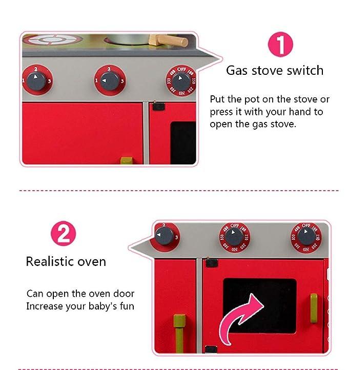 Amazon.com: Juguete de cocina para niños de 3 a 10 años de ...