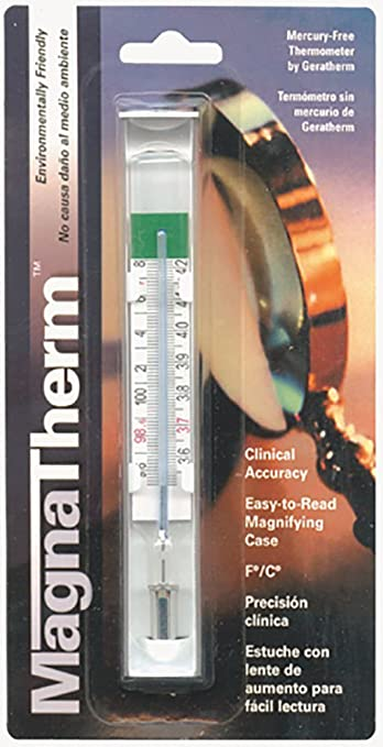 THERMOMETER MAGNIFIED MERC FR 1