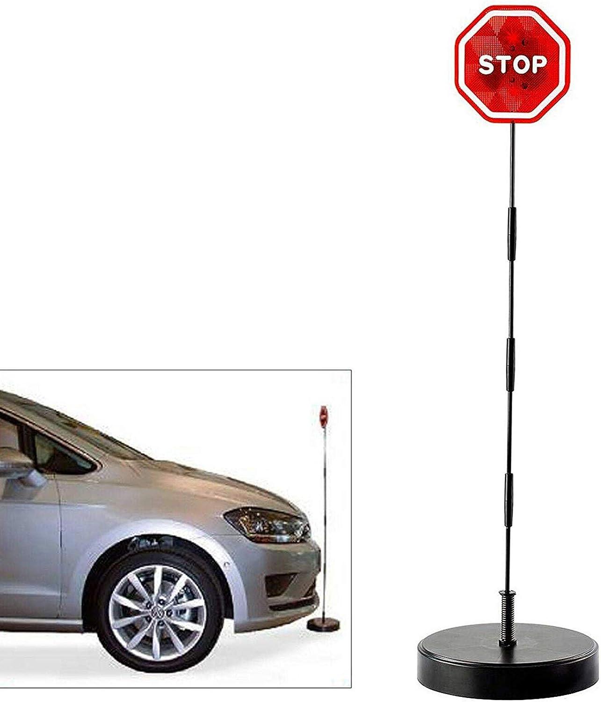 Is Led Stoppschild Einparkhilfe Mit Erschütterungssensor Parksensor Parkassistent Auto