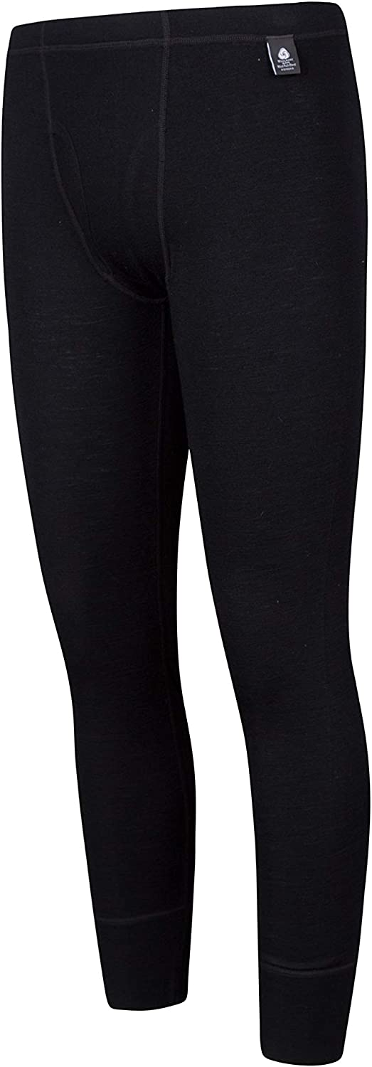 Mountain Warehouse Mens Merino Baselayer Pants Thermal Baselayer