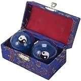 Fuji Mae - Boules de santé chinoises Qi Gong décorées avec son - 31706
