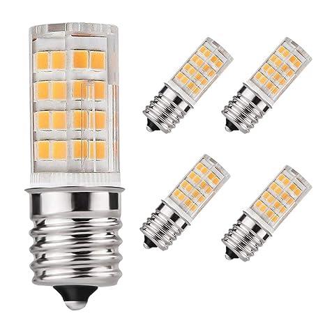 E17 - Bombilla LED para horno microondas (4 W, luz blanca ...