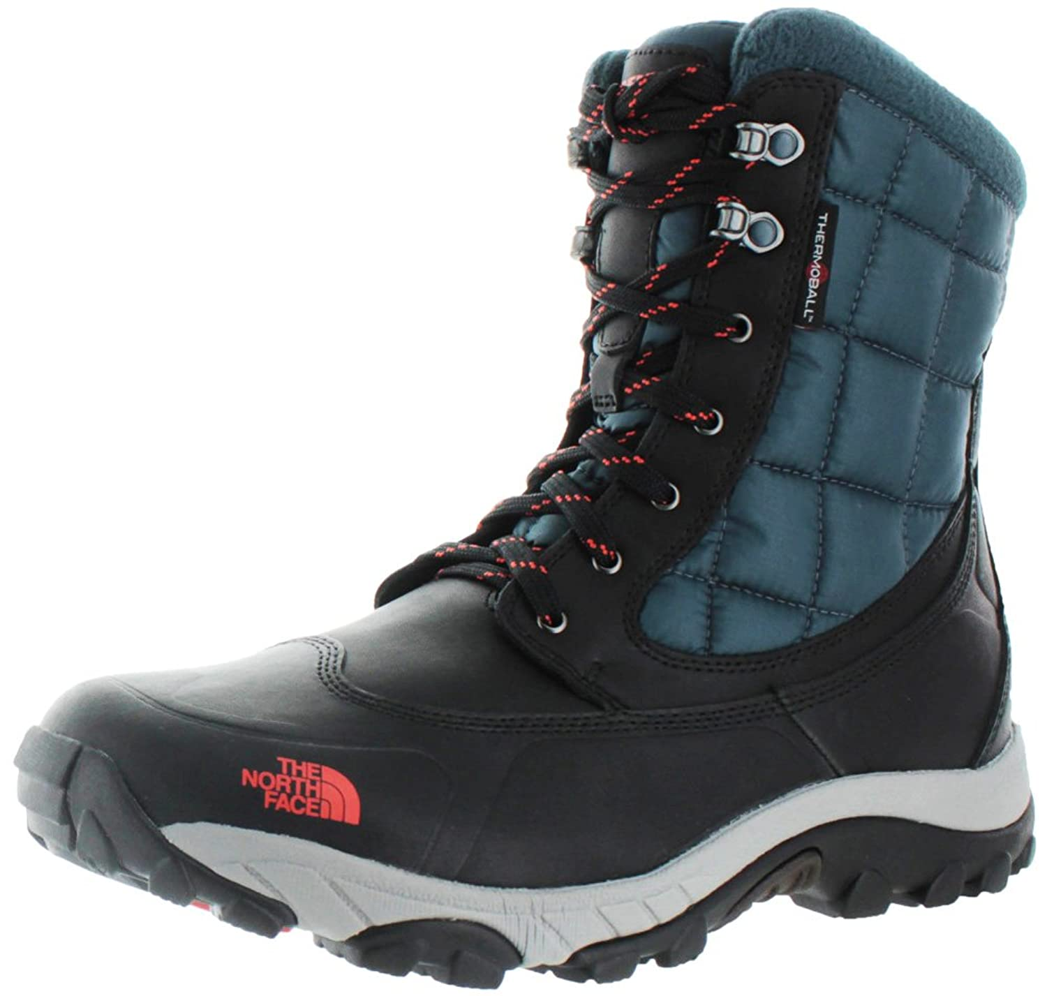 Amazon.com | The North Face Men's ThermoBall Utility Phantom Grey/Valencia  Orange 7 D - Medium | Snow Boots