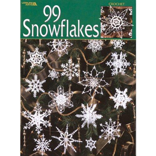 LEISURE ARTS NBKLEA881Leisure Arts 99 Snowflakes by LEISURE ARTS