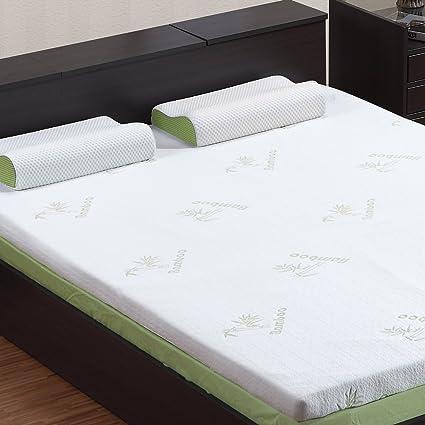 Amazon.com: LANGRIA 3 Inch Twin Mattress Toppers Memory Foam Bed