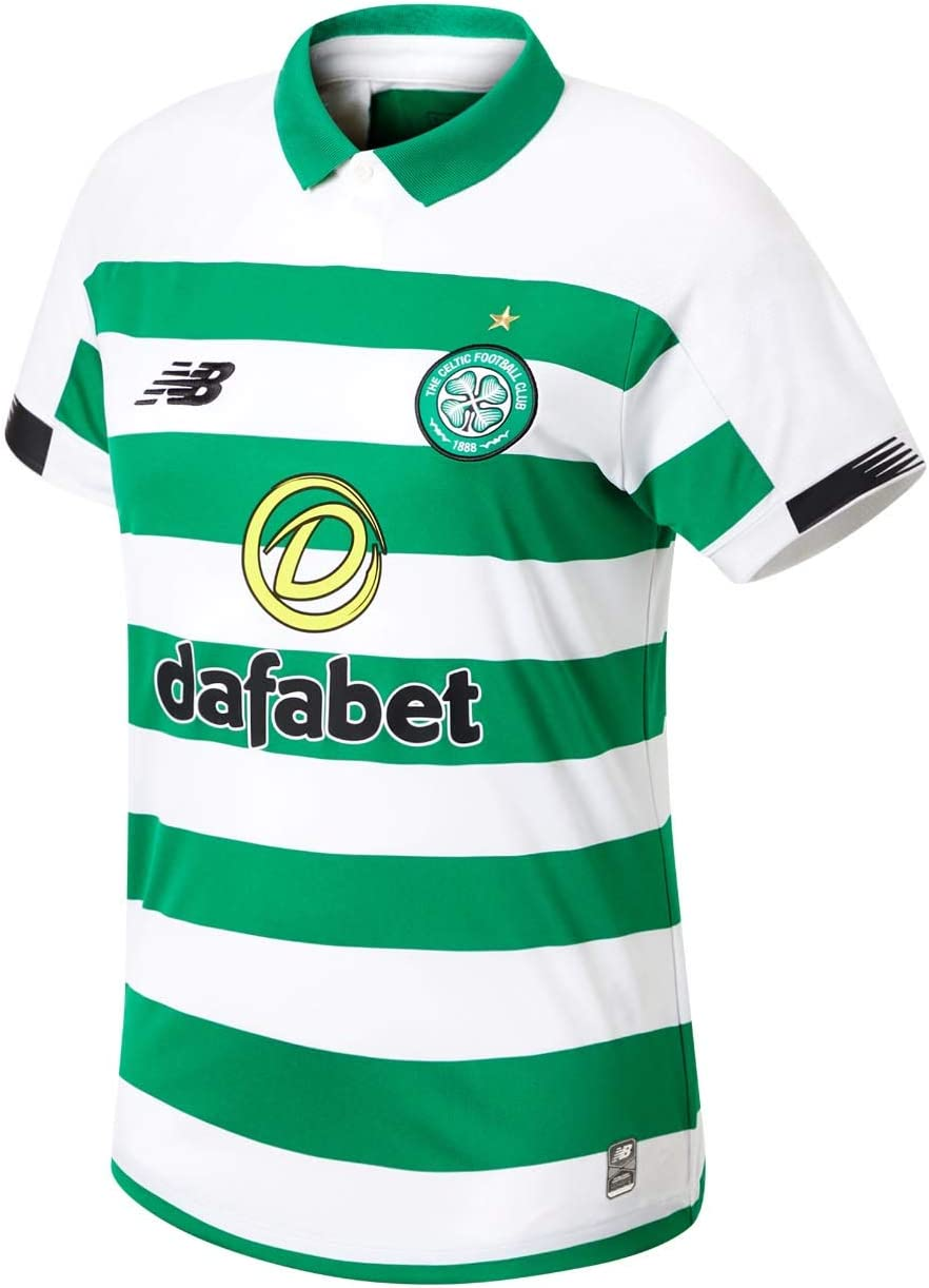 New Balance Women's Celtic Football Short Sleeve Jersey