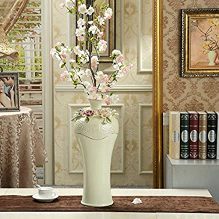 XOYOYO Lusso decorativo europeo vaso di ceramica di soggiorno ...