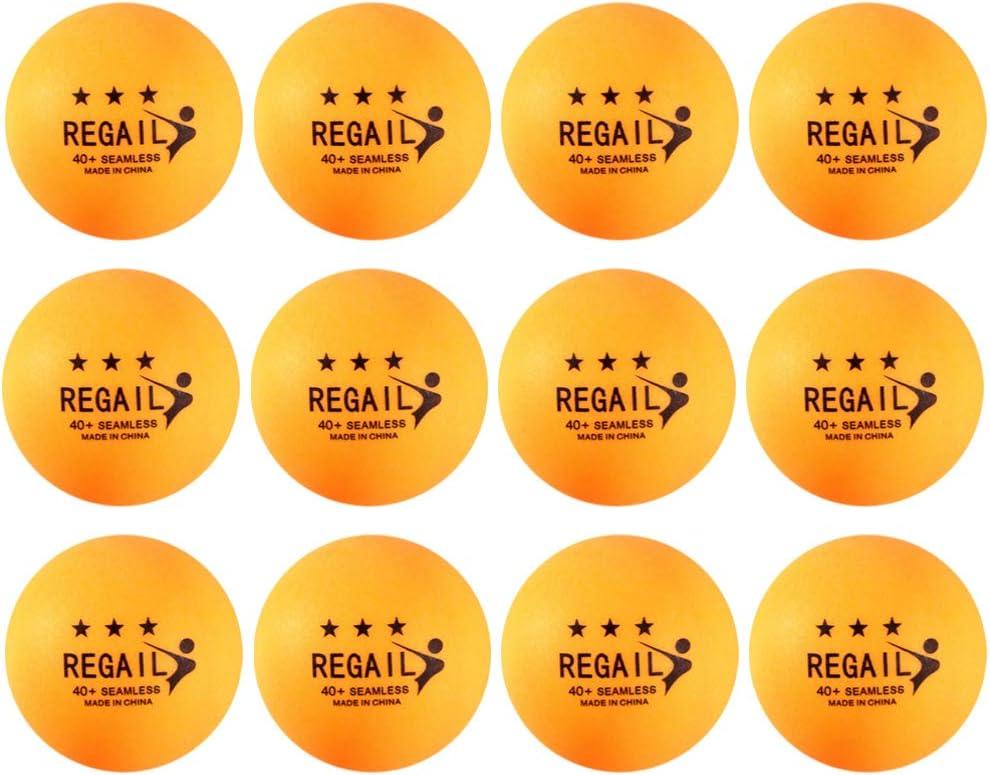 BESPORTBLE 50 Piezas Pelotas de Ping Pong Pelota de Tenis de Mesa Bolas de Cerveza Pong Suministros de Entrenamiento de Tenis de Mesa para La Formación Profesional de Principiantes Escolares