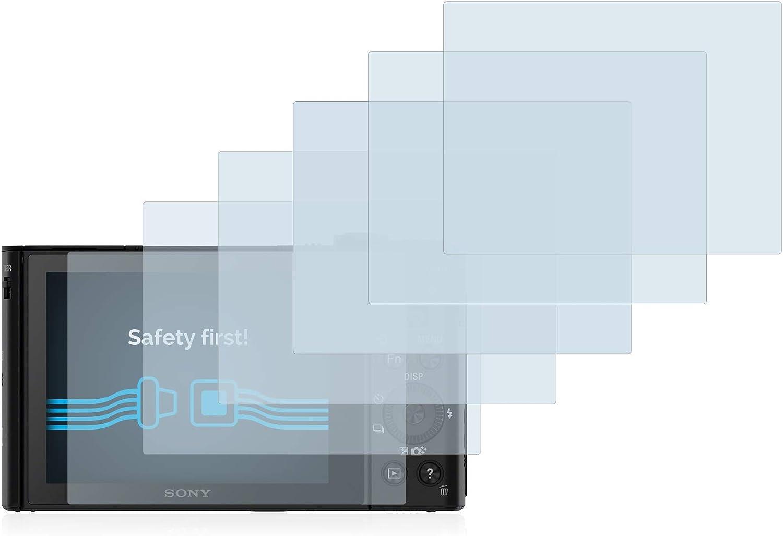 savvies Protector Pantalla Compatible con Sony Cyber-Shot DSC-HX90V (6 Unidades) Pelicula Ultra Transparente: Amazon.es: Electrónica
