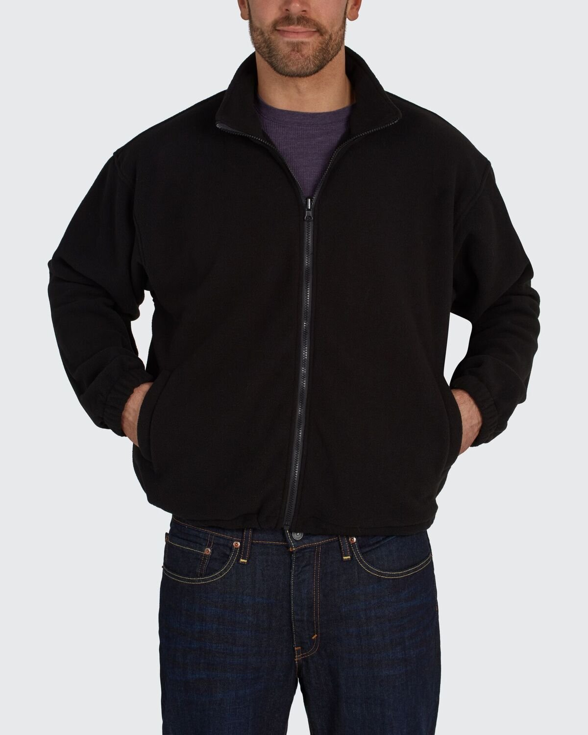 Utility Pro UHV563 Nylon//Polyester High-Vis Bomber Jacket with Zip-Out Fleece Liner with Dupont Teflon fabric protector Lime//Black X-Large