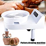 Updated 350W LCD Pottery Wheel Machine with