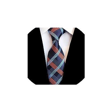 Mitta Yane men neckties Lazo a cuadros corbata de seda jacquard ...