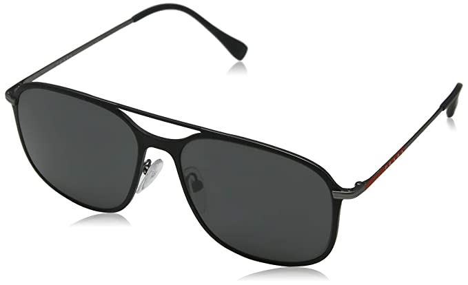 Prada Linea Rossa 0PS 53TS Gafas de sol, Black Gunmetal ...