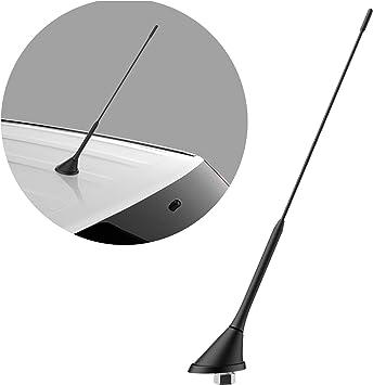 Antenne Dachantenne Antennenfuß für AUDI A3 A4 A6 MINI R53 R50 24cm ROKA SNAP