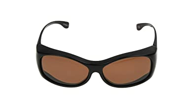Amazon.com: Solar Shield Raquel polarizado ronda anteojos de ...