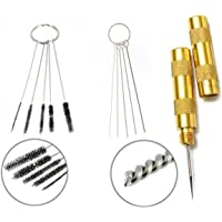Iycorish 11-in-1 Airbrush Cleaner Accessories with Stainless Steel Brushes and Needle | Professional Cleaning Kit Tools