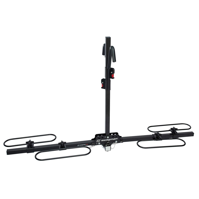 Swagman XC2 Hitch Mount Bike Rack , Black, 2-Inch Receiver