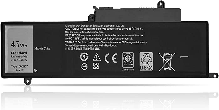 Fully GK5KY Replacement Laptop Battery Compatible with Dell Inspiron 11 3000 3147 3148 Inspiron 13-7347 13-7348 13-7352 GK5KY P20T 04K8YH 92NCT 092NCT 4K8YH - 11.1V 34Wh