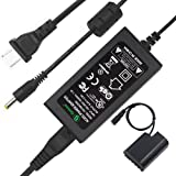 Gonine DMW-DCC12 DMW-AC8 AC Power Adapter DC Coupler Charger Kit Compatible with PANASONIC BLF-19 Battery LUMIX DMC-GH3 DMC-GH4 DMC-GH3K DMC-GH4K DC-GH5 DC-G9 Digital Camera.