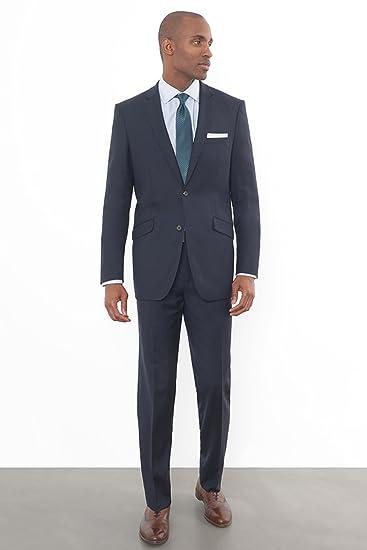 Amazon.com: combatant caballeros traje de ajuste hombre Azul ...
