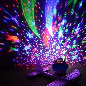 Amazon Com Star Sky Moon Projector Multicolor Led Bulbs