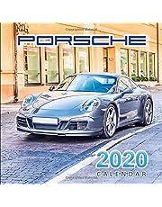 2020 Calendar Porsche: Monthly Calendar with USA Holidays&Observances, Full Color Photos, Supercars Calendar, Automobile Calendar