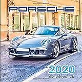 2020 Calendar Porsche: Monthly Calendar with USA