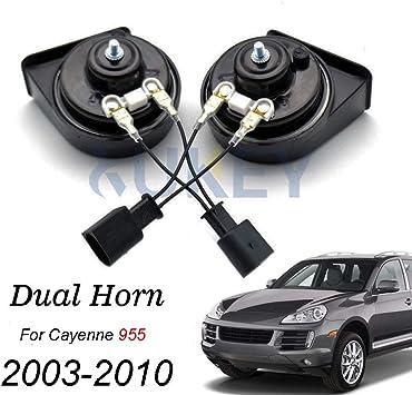 Chrysler 300C Loud Horns 12v Black Pair