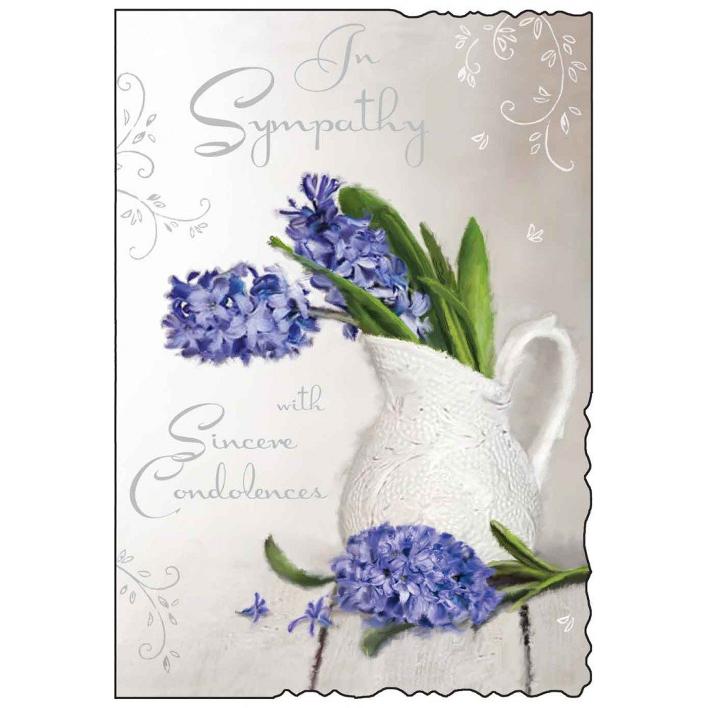 In Sympathy With Sincere Condolences Card.