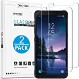 OMOTON ''Samsung Galaxy S8 Active'' Screen Protector [2 PACK], Not for Galaxy S8/ S8 Plus, Tempered Glass Screen Protector for ''Galaxy S8 Active'' with [High Definition] [Bubble Free] [9H Hardness]