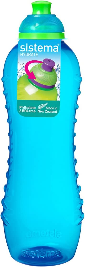 Sistema Hydrate Twist 'n' Sip - Botella de plastico, Azul, 620 ml, 1 unidad